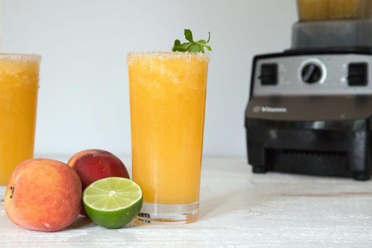 Frozen Peach Margarita