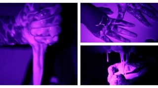 Stunning Glow in the Dark Oobleck Experiment for Kids