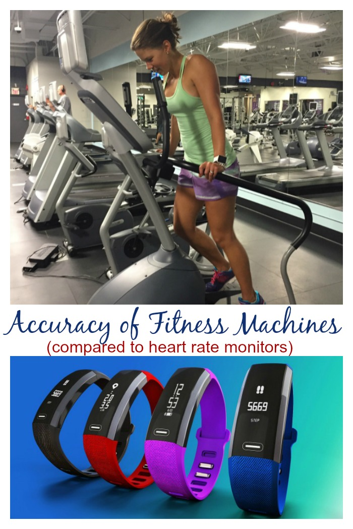 How accurate are fitness machines?