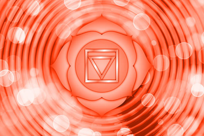 the symbol of the root chakra, also known as the muladhara.